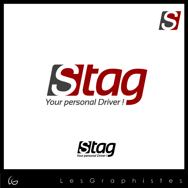 Logo Design by Les-Graphistes - Entry No. 95 in the Logo Design Contest Unique Logo Design Wanted for Stag.