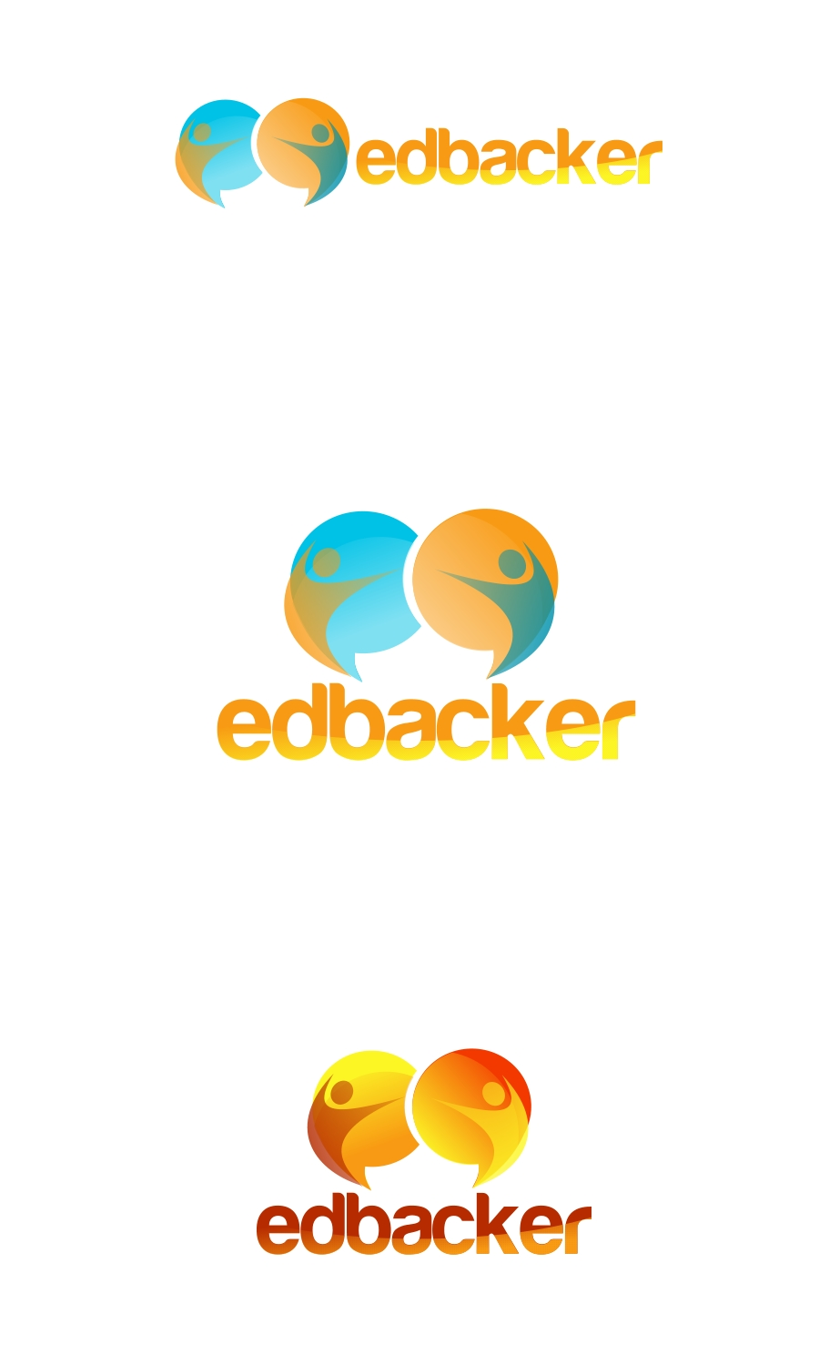 Logo Design by Private User - Entry No. 112 in the Logo Design Contest New Logo Design for edbacker.