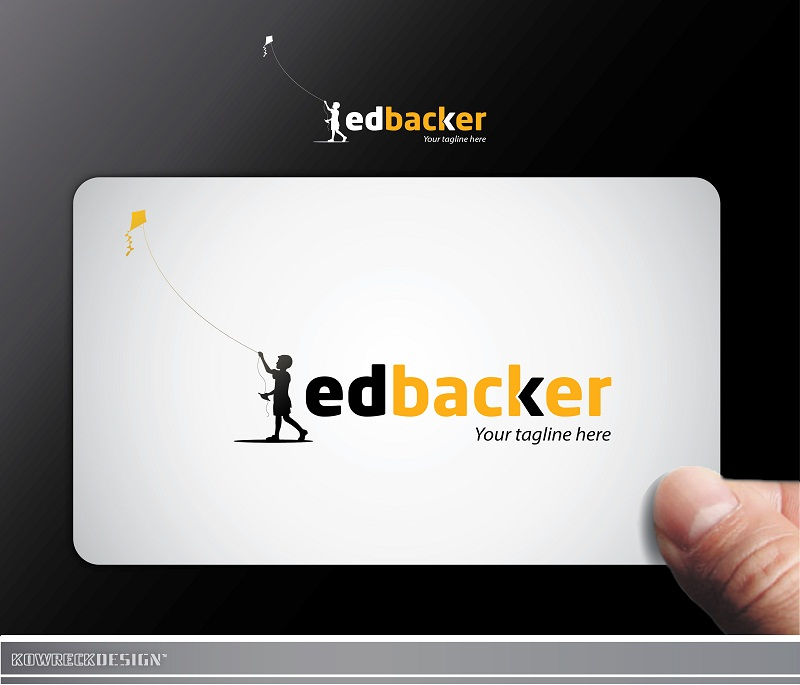Logo Design by kowreck - Entry No. 117 in the Logo Design Contest New Logo Design for edbacker.