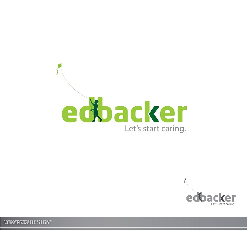 Logo Design by kowreck - Entry No. 119 in the Logo Design Contest New Logo Design for edbacker.
