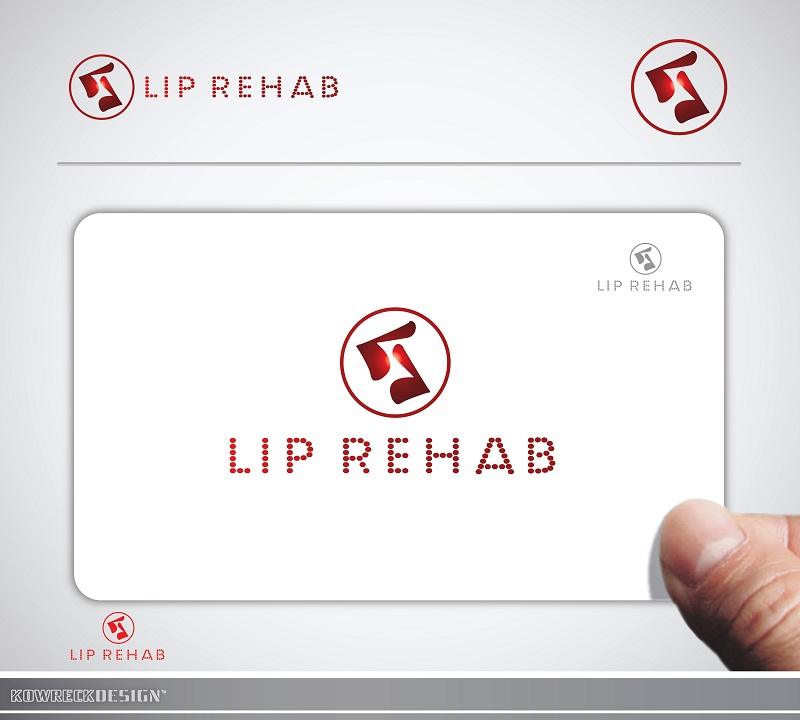 Logo Design by kowreck - Entry No. 2 in the Logo Design Contest Creative Logo Design for Lip Rehab.