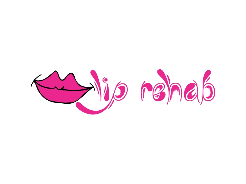 Logo Design by Rehan Saeed - Entry No. 5 in the Logo Design Contest Creative Logo Design for Lip Rehab.