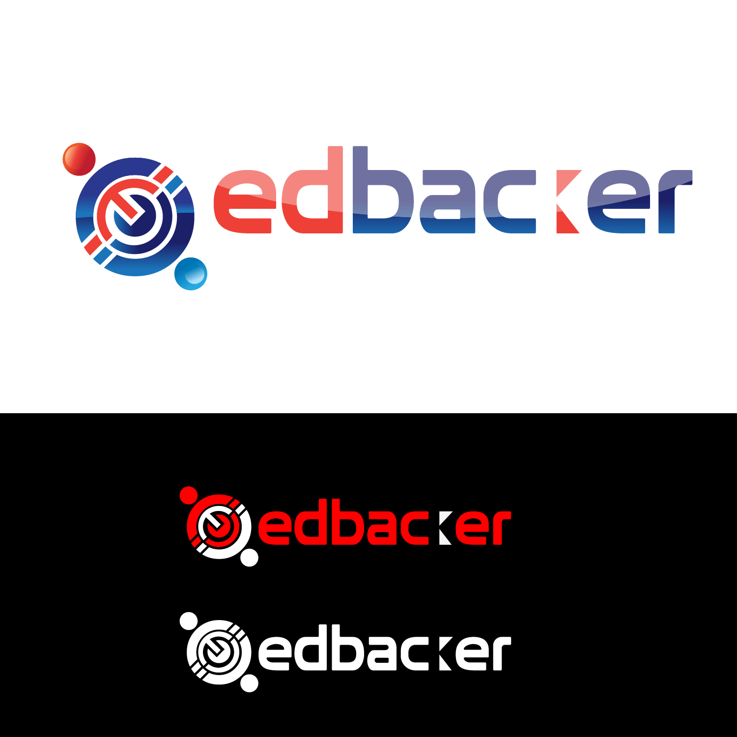Logo Design by lagalag - Entry No. 136 in the Logo Design Contest New Logo Design for edbacker.