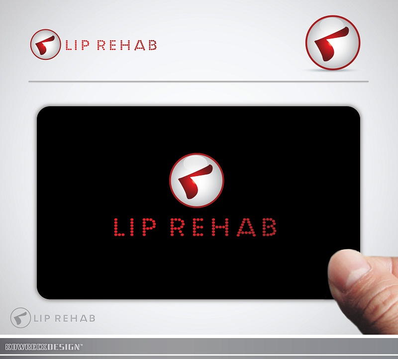 Logo Design by kowreck - Entry No. 8 in the Logo Design Contest Creative Logo Design for Lip Rehab.