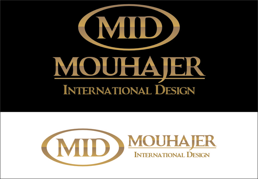Logo Design by Ngepet_art - Entry No. 5 in the Logo Design Contest Unique Logo Design Wanted for Mouhajer International Design.