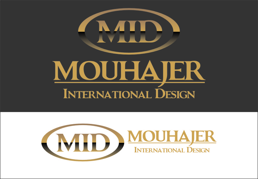 Logo Design by Ngepet_art - Entry No. 7 in the Logo Design Contest Unique Logo Design Wanted for Mouhajer International Design.