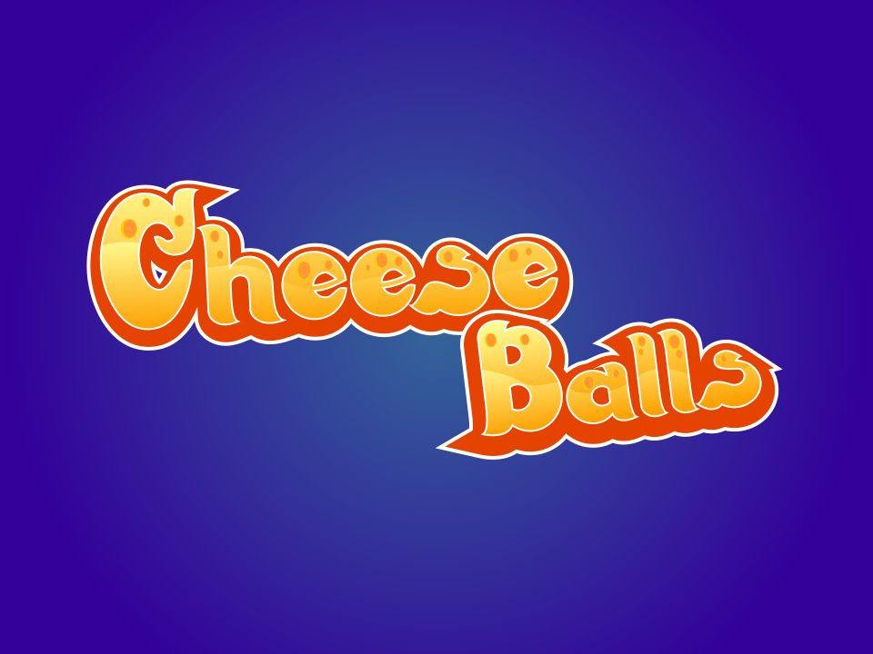 Logo Design by mr.pompi - Entry No. 3 in the Logo Design Contest Imaginative Logo Design for Cheese Balls.