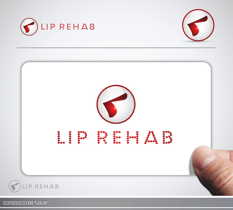 Logo Design by kowreck - Entry No. 14 in the Logo Design Contest Creative Logo Design for Lip Rehab.