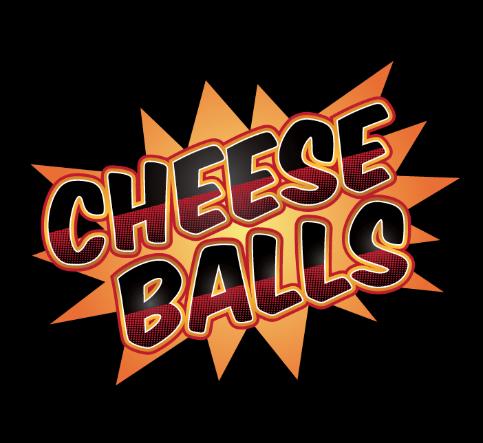 Logo Design by nausigeo - Entry No. 7 in the Logo Design Contest Imaginative Logo Design for Cheese Balls.