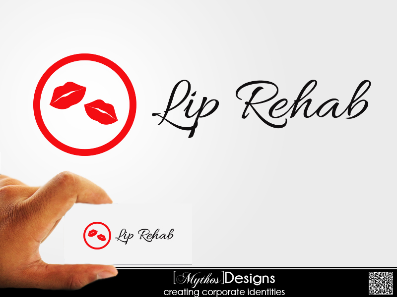 Logo Design by Mythos Designs - Entry No. 18 in the Logo Design Contest Creative Logo Design for Lip Rehab.