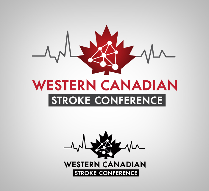 Logo Design by nausigeo - Entry No. 1 in the Logo Design Contest Artistic Logo Design for Western Canadian Stroke Conference.