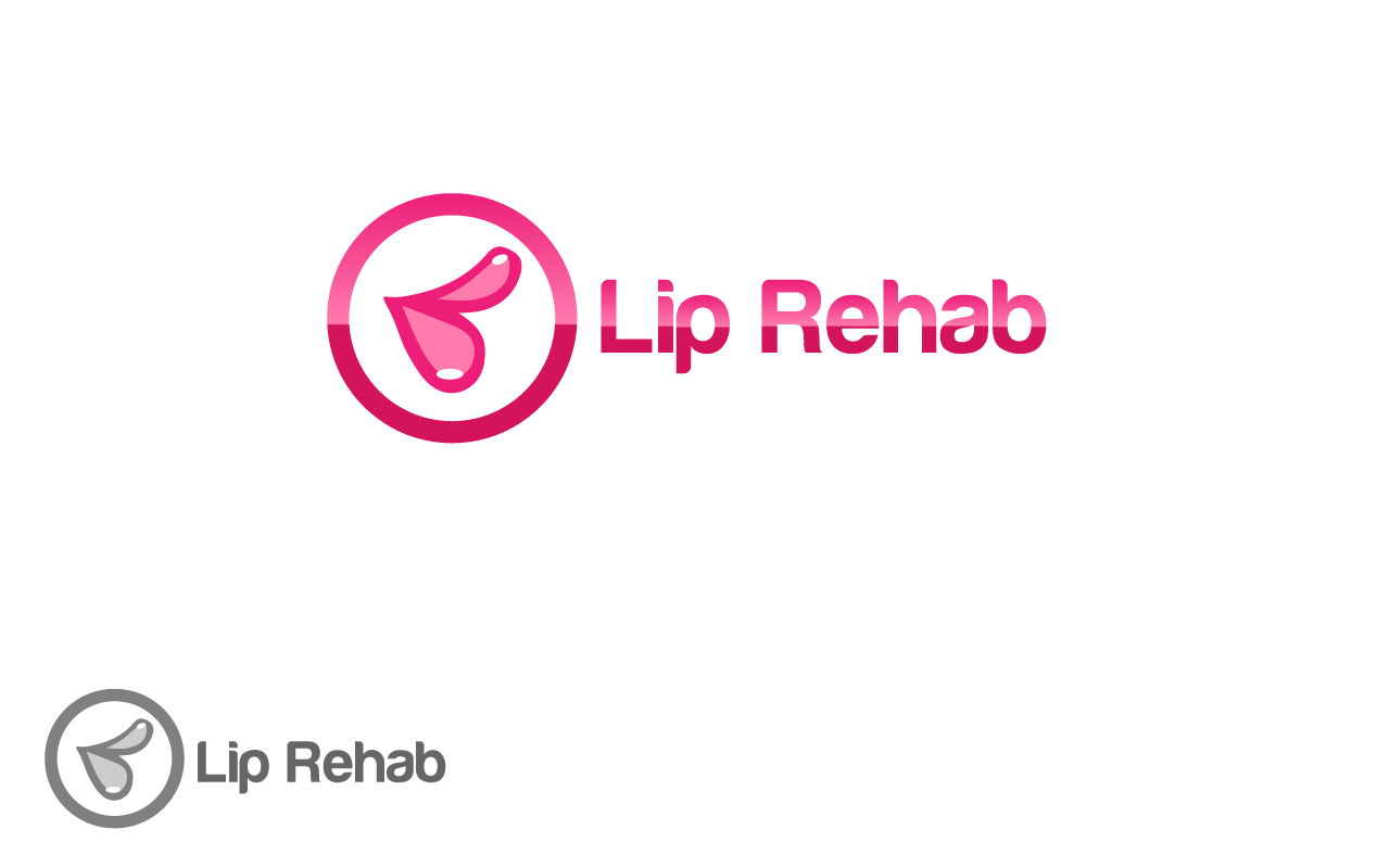 Logo Design by Jagdeep Singh - Entry No. 19 in the Logo Design Contest Creative Logo Design for Lip Rehab.