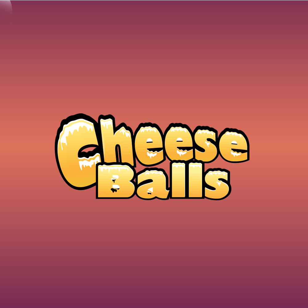 Logo Design by rockin - Entry No. 9 in the Logo Design Contest Imaginative Logo Design for Cheese Balls.
