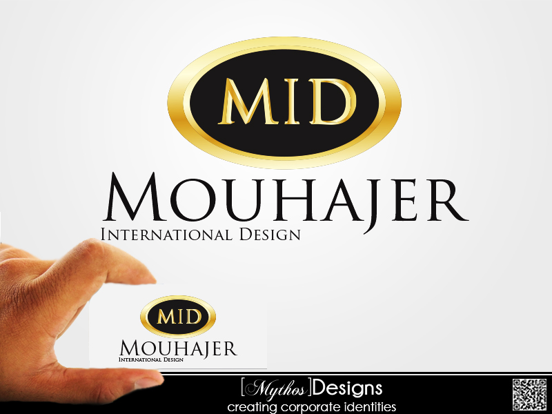 Logo Design by Mythos Designs - Entry No. 8 in the Logo Design Contest Unique Logo Design Wanted for Mouhajer International Design.