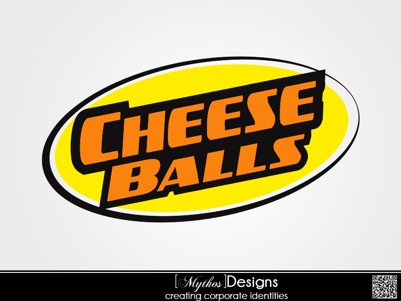 Logo Design by Mythos Designs - Entry No. 11 in the Logo Design Contest Imaginative Logo Design for Cheese Balls.