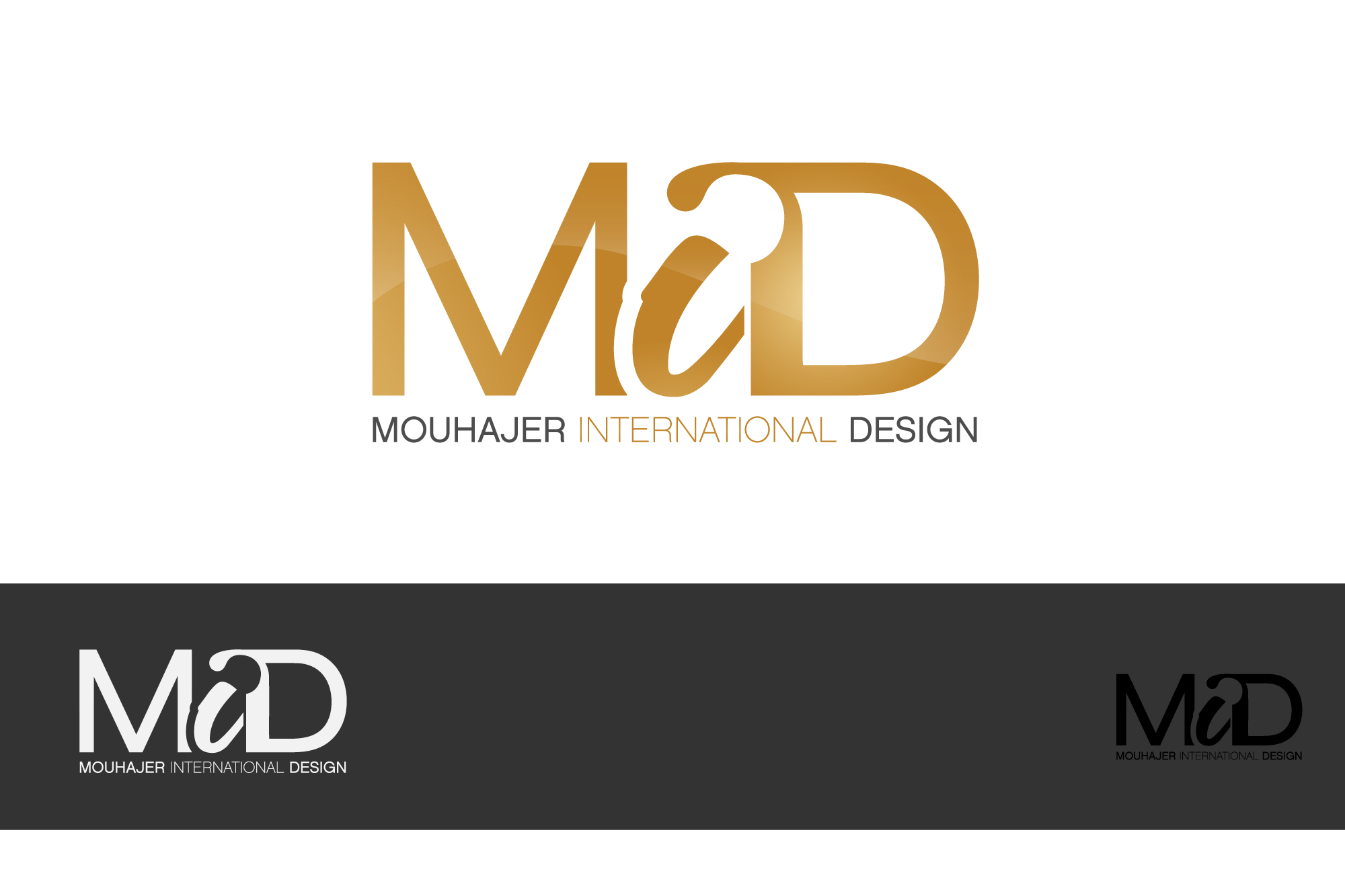Logo Design by Private User - Entry No. 9 in the Logo Design Contest Unique Logo Design Wanted for Mouhajer International Design.