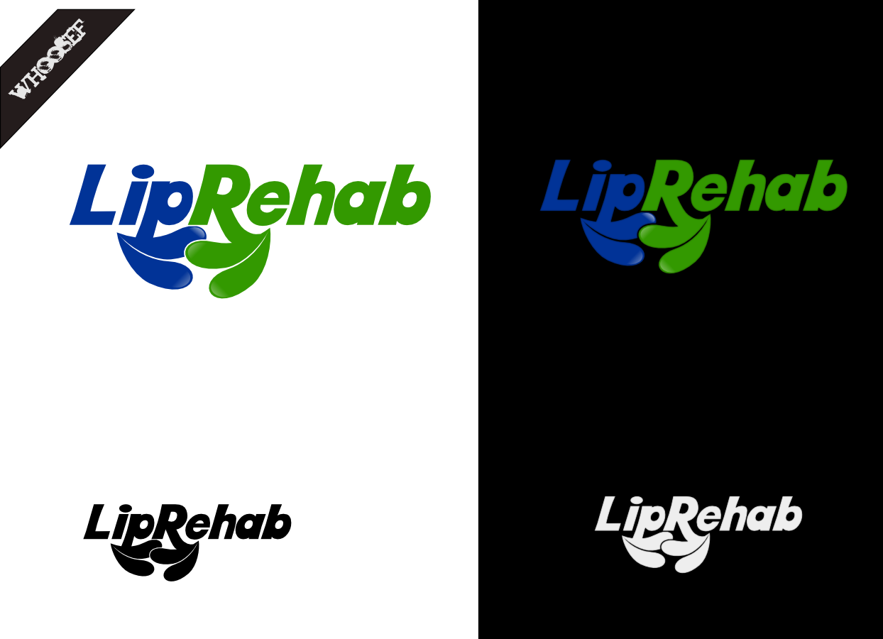 Logo Design by whoosef - Entry No. 25 in the Logo Design Contest Creative Logo Design for Lip Rehab.