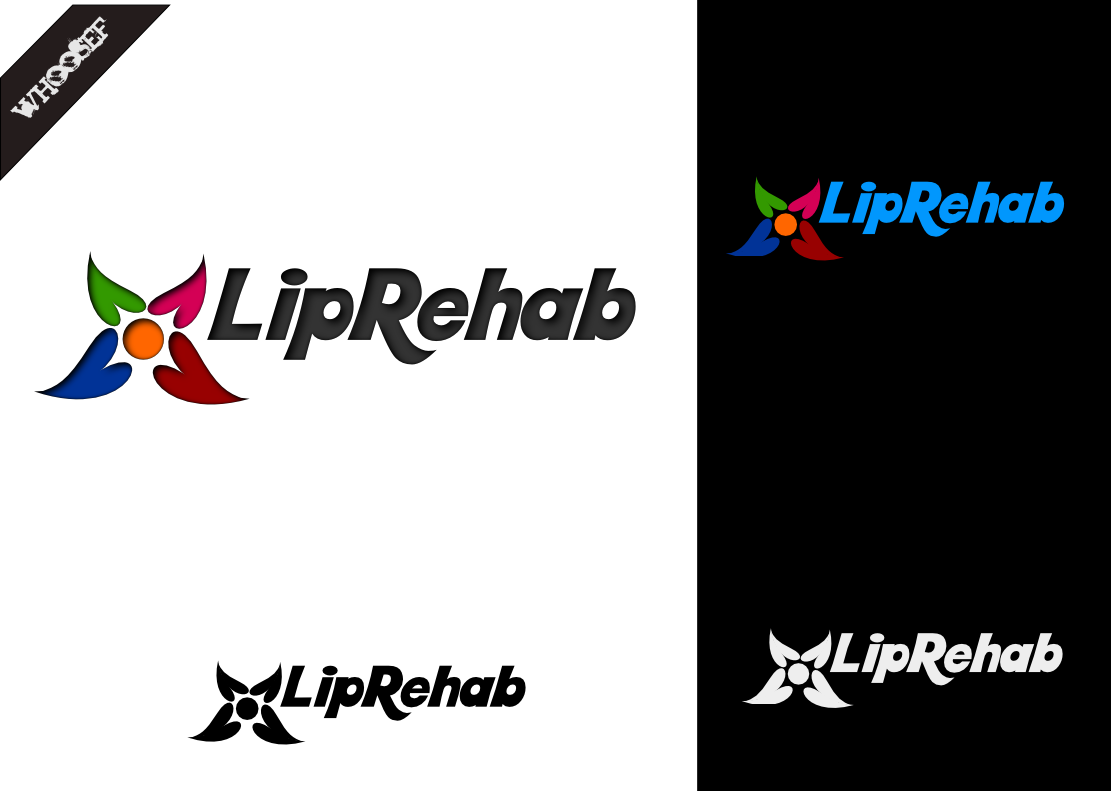 Logo Design by whoosef - Entry No. 34 in the Logo Design Contest Creative Logo Design for Lip Rehab.