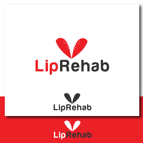 Logo Design by rockin - Entry No. 37 in the Logo Design Contest Creative Logo Design for Lip Rehab.