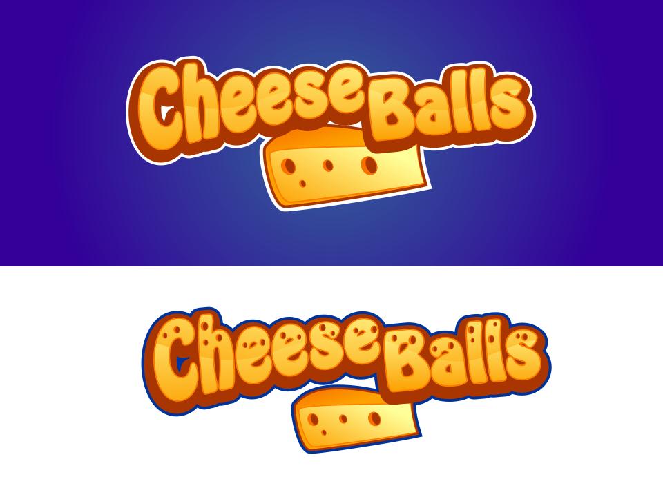 Logo Design by mr.pompi - Entry No. 17 in the Logo Design Contest Imaginative Logo Design for Cheese Balls.