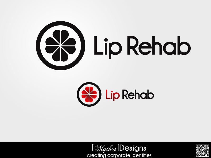 Logo Design by Mythos Designs - Entry No. 41 in the Logo Design Contest Creative Logo Design for Lip Rehab.