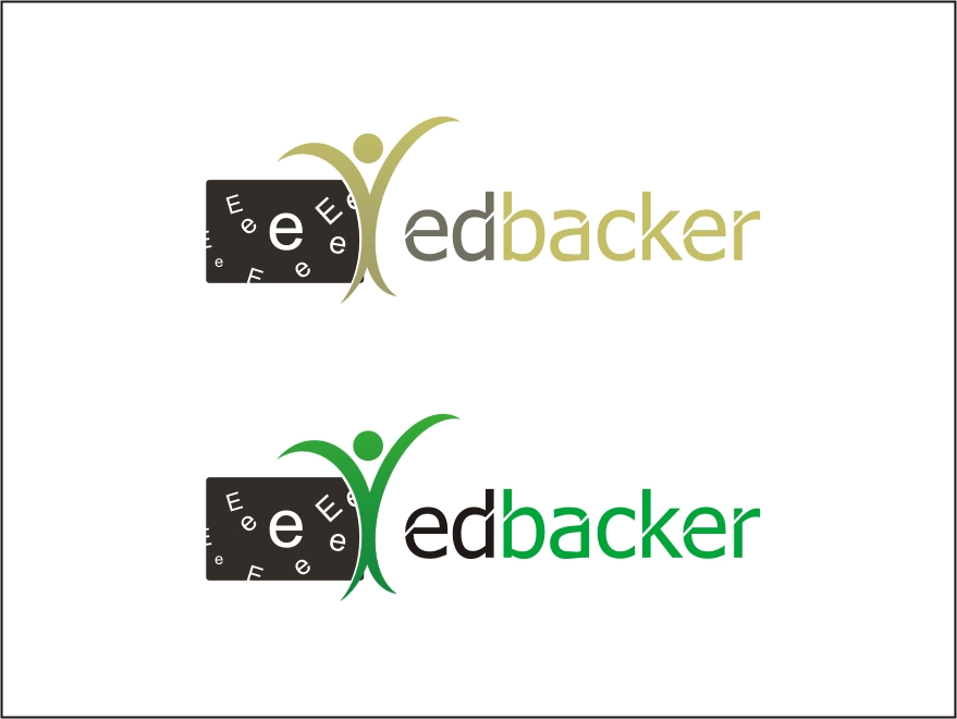Logo Design by RED HORSE design studio - Entry No. 141 in the Logo Design Contest New Logo Design for edbacker.