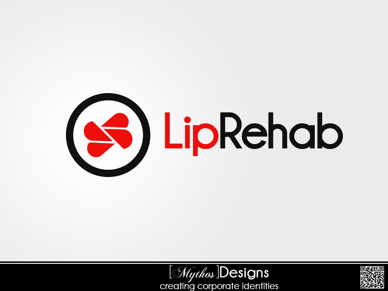 Logo Design by Mythos Designs - Entry No. 44 in the Logo Design Contest Creative Logo Design for Lip Rehab.