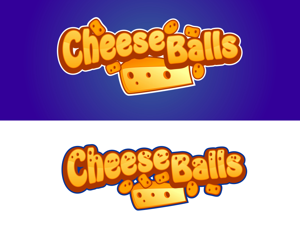 Logo Design by mr.pompi - Entry No. 18 in the Logo Design Contest Imaginative Logo Design for Cheese Balls.