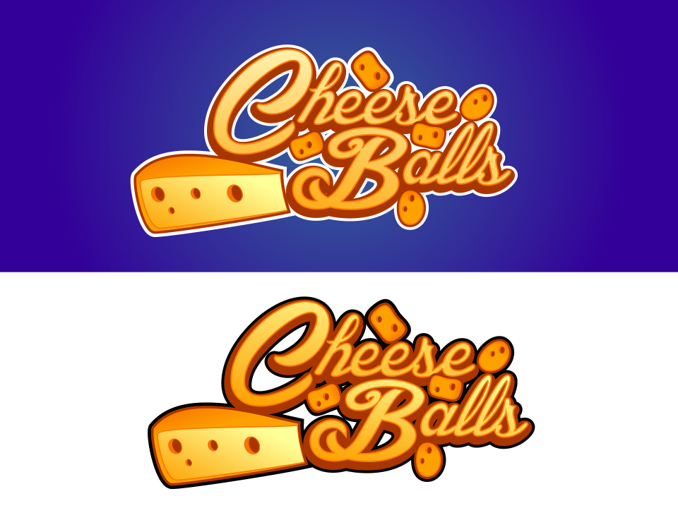 Logo Design by mr.pompi - Entry No. 19 in the Logo Design Contest Imaginative Logo Design for Cheese Balls.