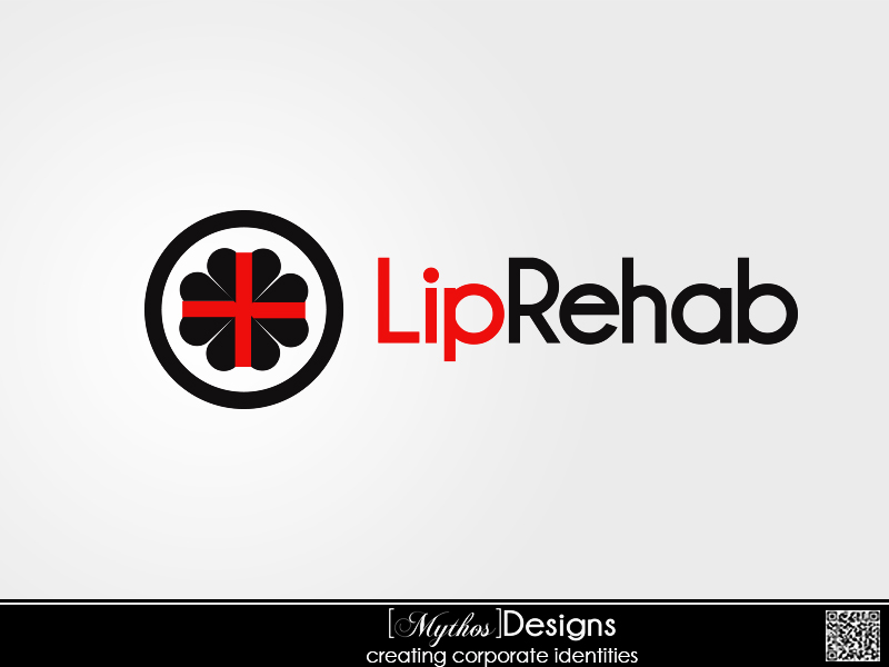 Logo Design by Mythos Designs - Entry No. 47 in the Logo Design Contest Creative Logo Design for Lip Rehab.
