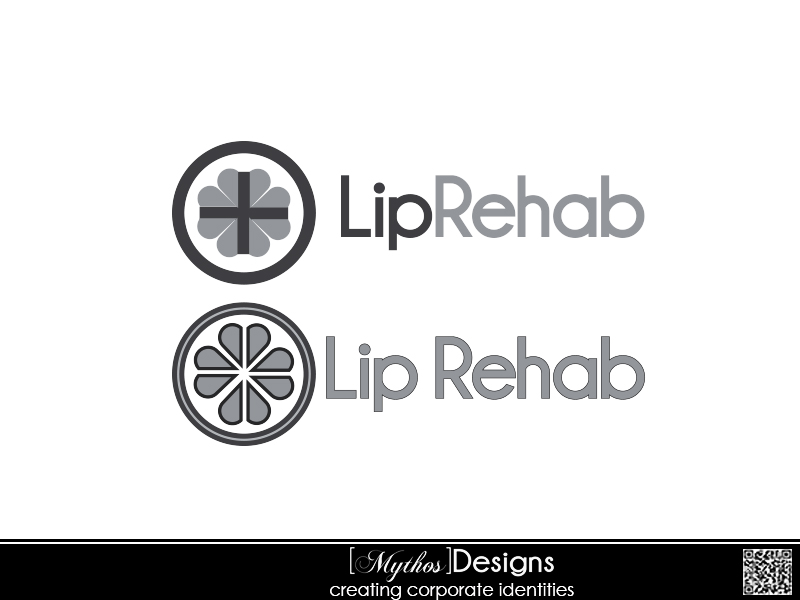 Logo Design by Mythos Designs - Entry No. 48 in the Logo Design Contest Creative Logo Design for Lip Rehab.