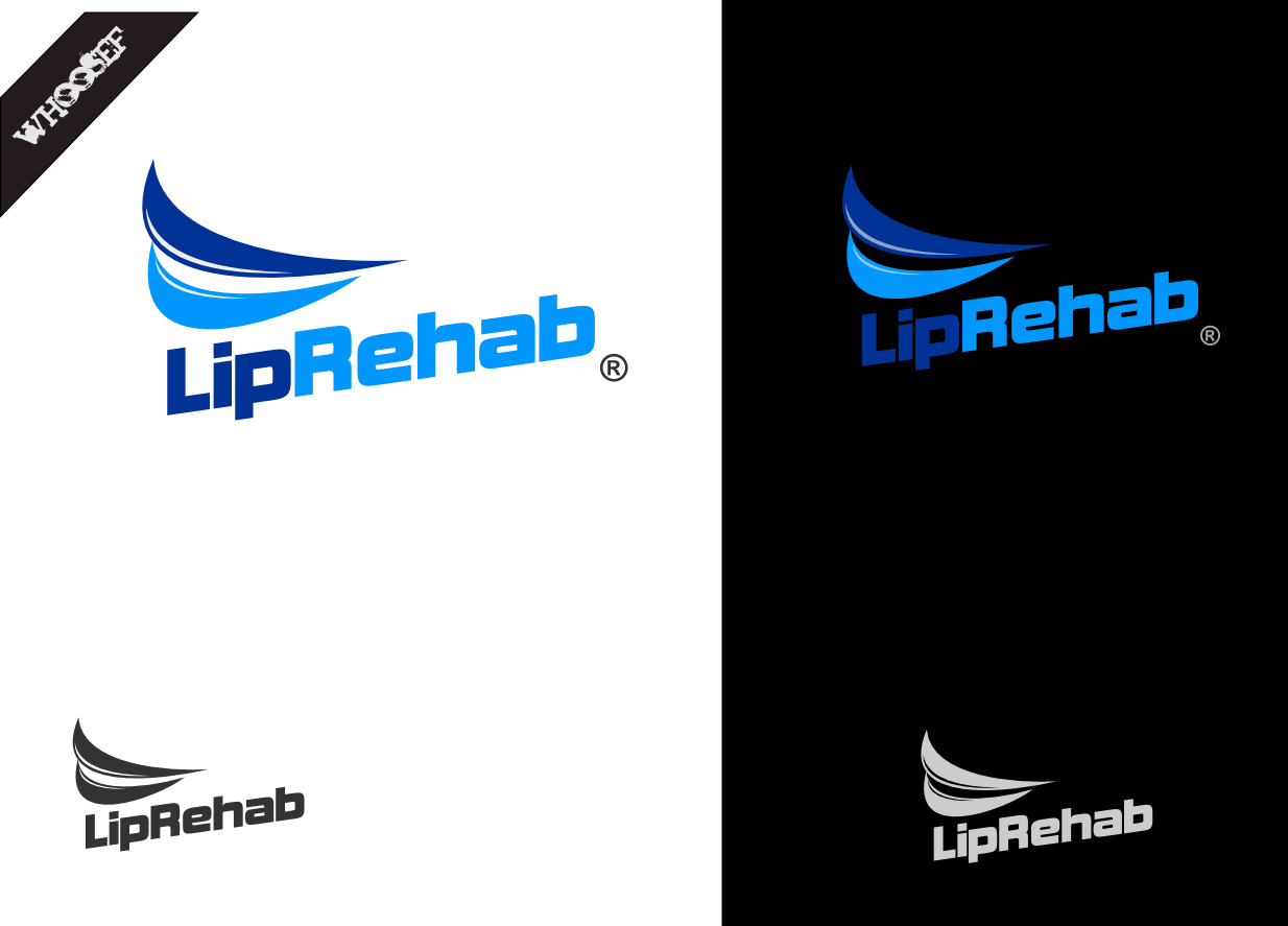 Logo Design by whoosef - Entry No. 50 in the Logo Design Contest Creative Logo Design for Lip Rehab.
