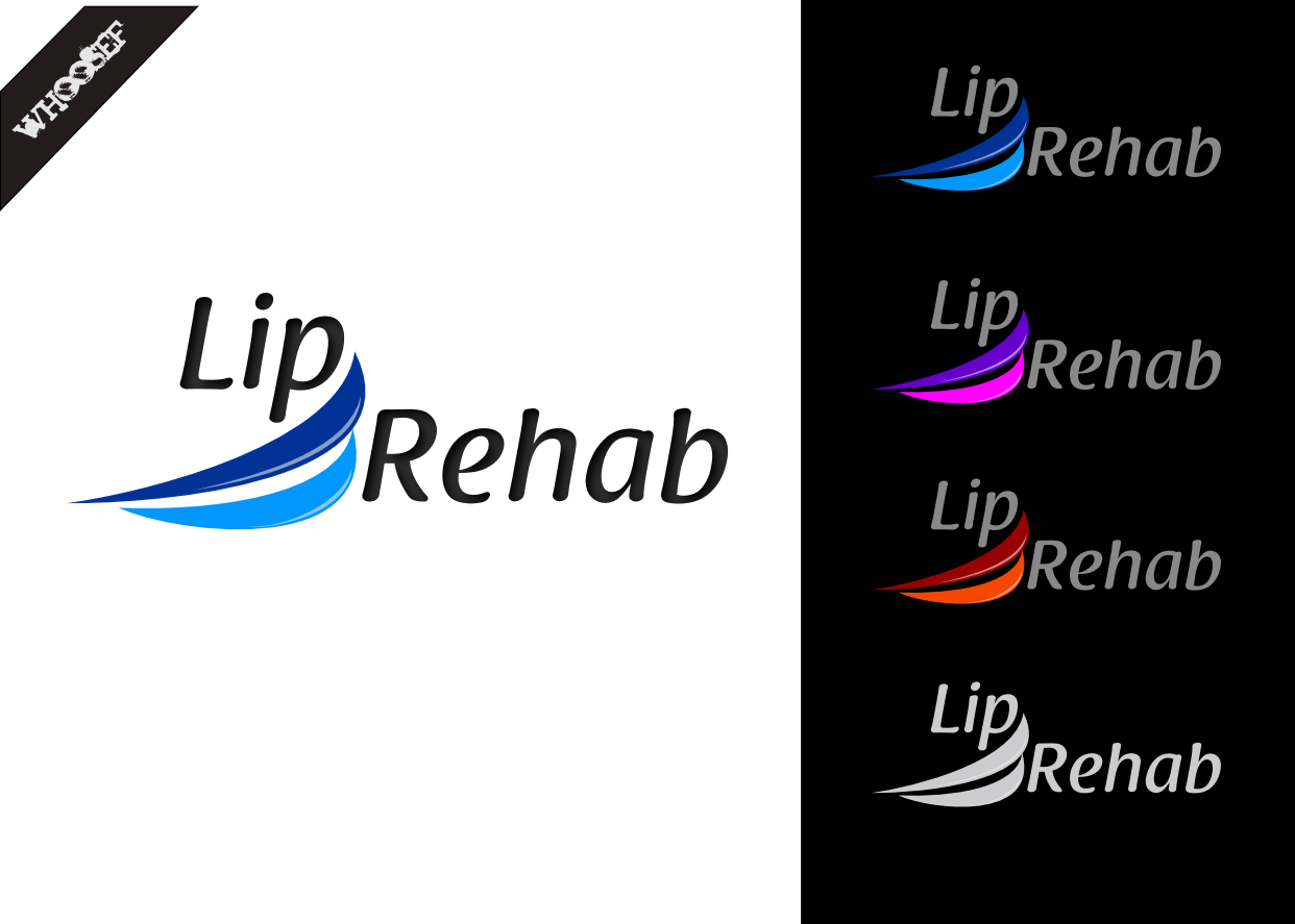 Logo Design by whoosef - Entry No. 52 in the Logo Design Contest Creative Logo Design for Lip Rehab.