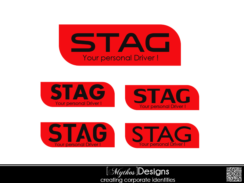 Logo Design by Mythos Designs - Entry No. 154 in the Logo Design Contest Unique Logo Design Wanted for Stag.