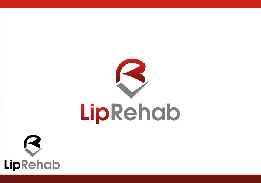 Logo Design by graphicleaf - Entry No. 56 in the Logo Design Contest Creative Logo Design for Lip Rehab.