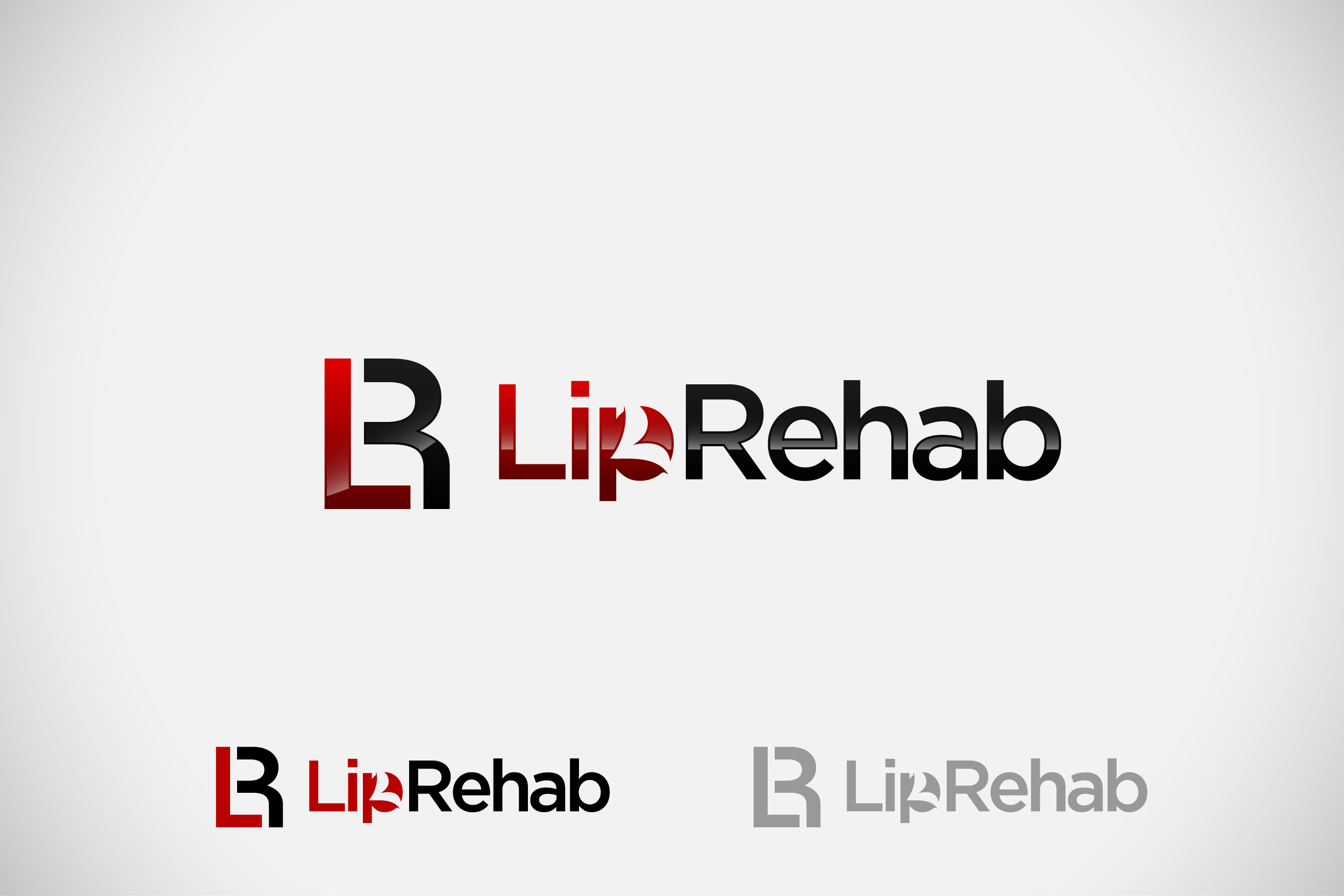Logo Design by Private User - Entry No. 64 in the Logo Design Contest Creative Logo Design for Lip Rehab.