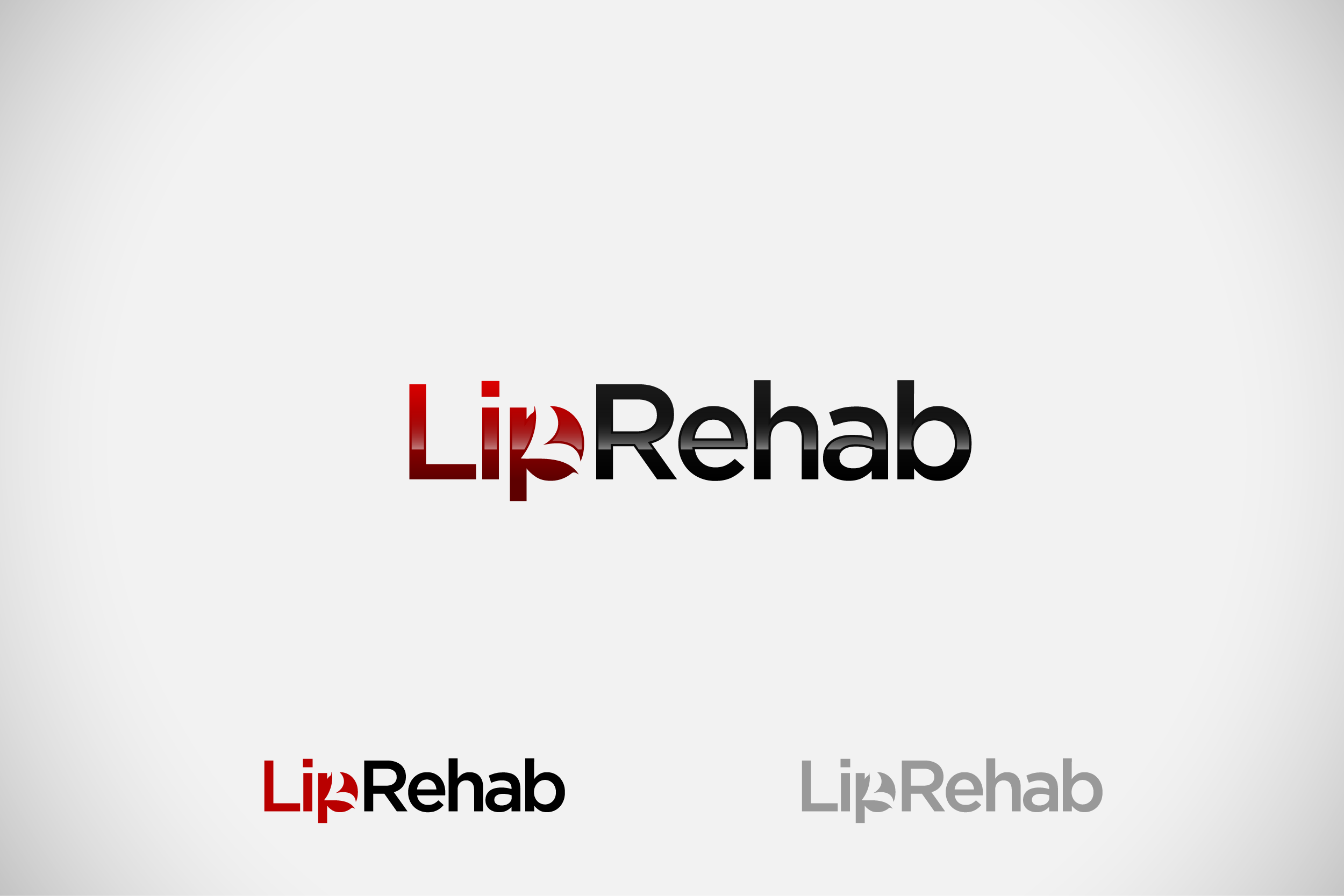 Logo Design by Private User - Entry No. 72 in the Logo Design Contest Creative Logo Design for Lip Rehab.