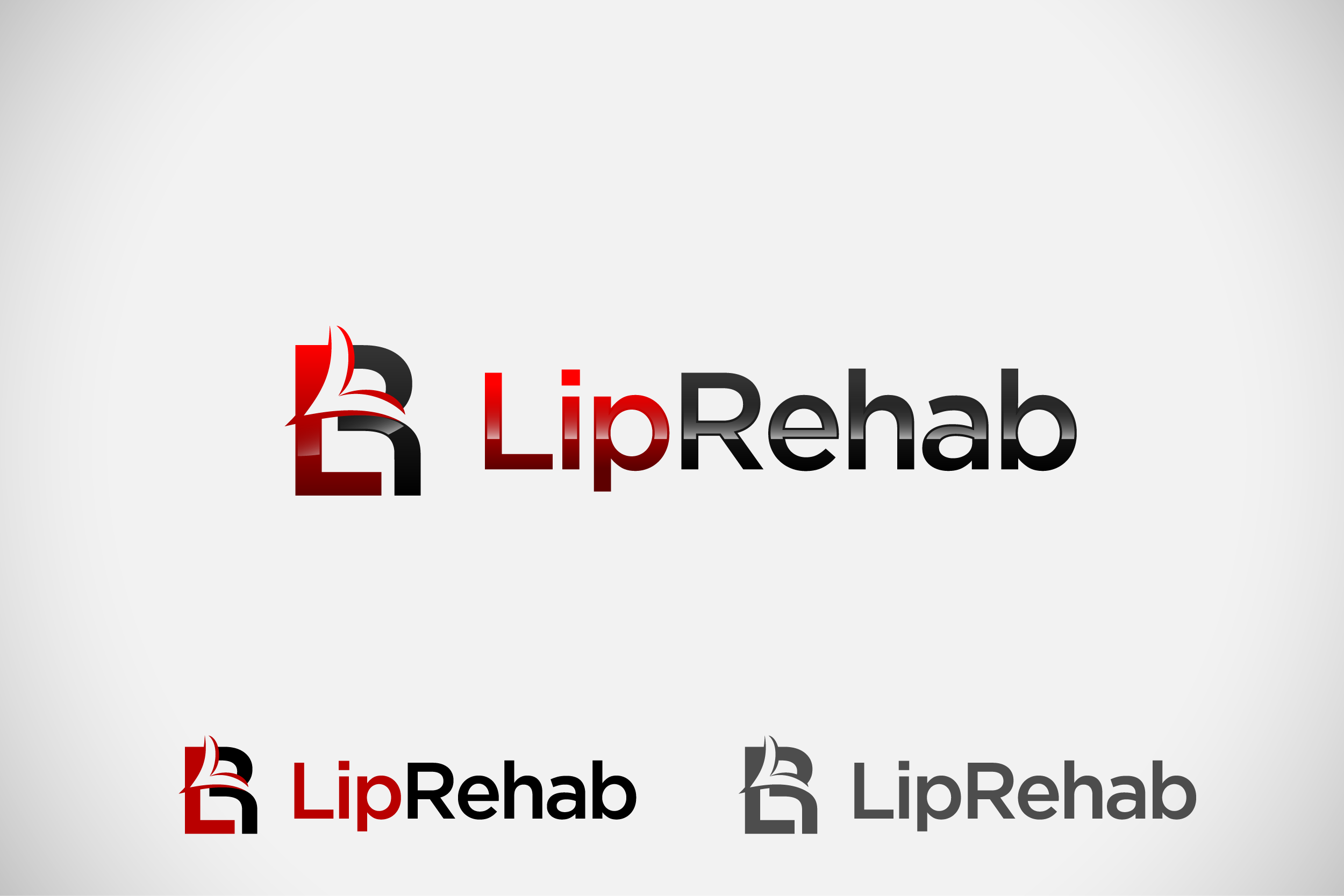 Logo Design by Private User - Entry No. 74 in the Logo Design Contest Creative Logo Design for Lip Rehab.