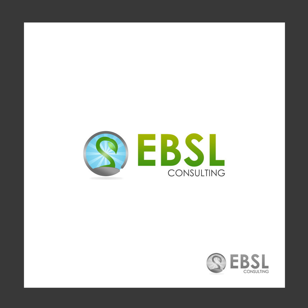 Logo Design by omARTist - Entry No. 5 in the Logo Design Contest EBSL Consulting Logo Design.