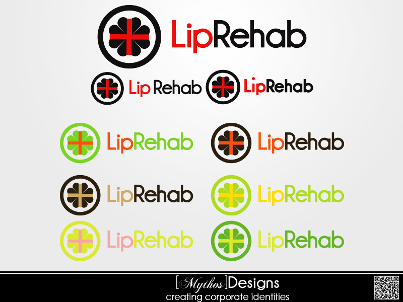 Logo Design by Mythos Designs - Entry No. 80 in the Logo Design Contest Creative Logo Design for Lip Rehab.