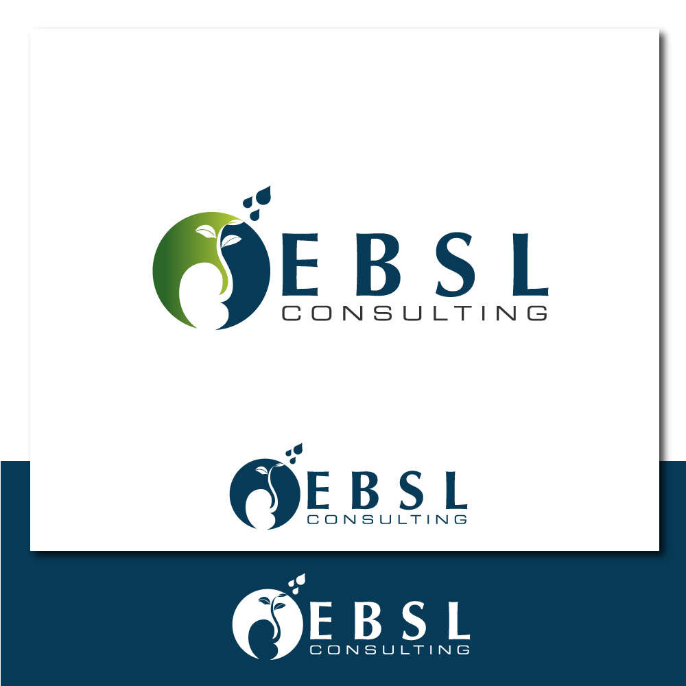 Logo Design by rockin - Entry No. 7 in the Logo Design Contest EBSL Consulting Logo Design.