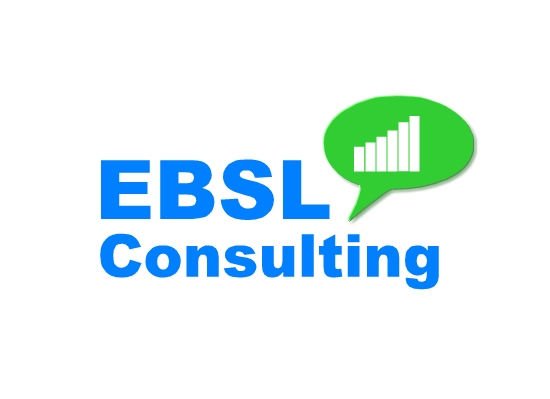 Logo Design by Ismail Adhi Wibowo - Entry No. 8 in the Logo Design Contest EBSL Consulting Logo Design.