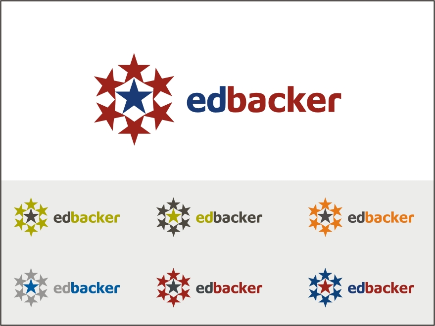 Logo Design by RED HORSE design studio - Entry No. 170 in the Logo Design Contest New Logo Design for edbacker.