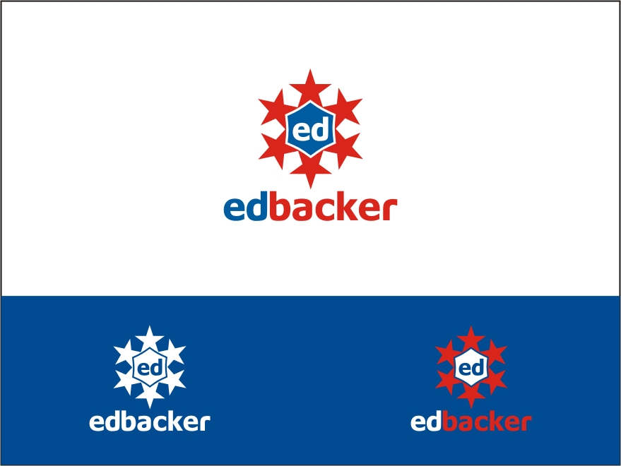 Logo Design by RED HORSE design studio - Entry No. 171 in the Logo Design Contest New Logo Design for edbacker.