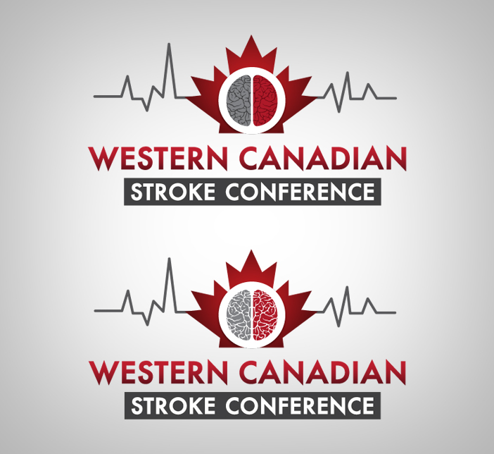 Logo Design by nausigeo - Entry No. 5 in the Logo Design Contest Artistic Logo Design for Western Canadian Stroke Conference.