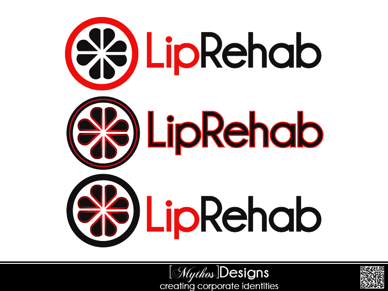 Logo Design by Mythos Designs - Entry No. 95 in the Logo Design Contest Creative Logo Design for Lip Rehab.
