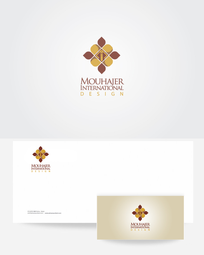 Logo Design by Private User - Entry No. 20 in the Logo Design Contest Unique Logo Design Wanted for Mouhajer International Design.