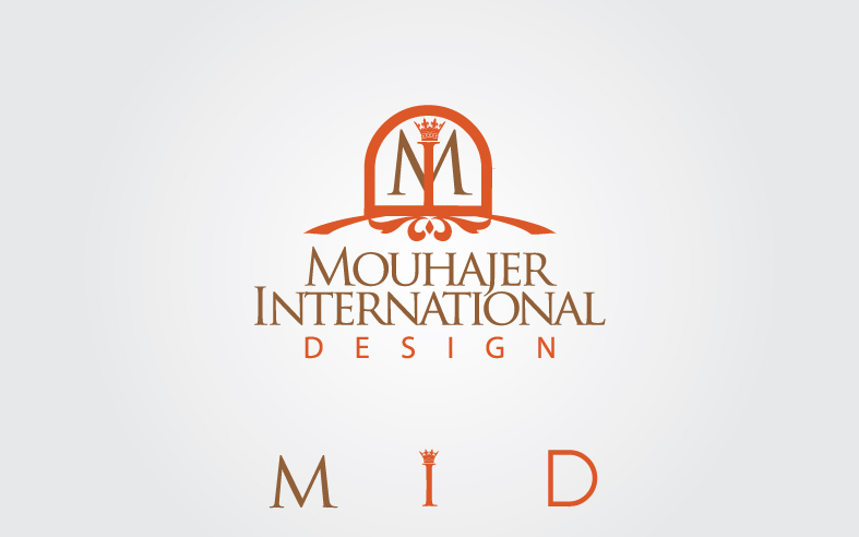 Logo Design by Private User - Entry No. 21 in the Logo Design Contest Unique Logo Design Wanted for Mouhajer International Design.
