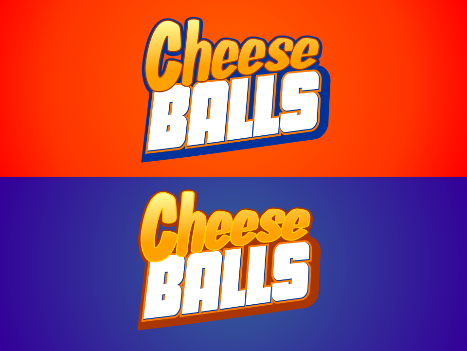 Logo Design by mr.pompi - Entry No. 26 in the Logo Design Contest Imaginative Logo Design for Cheese Balls.