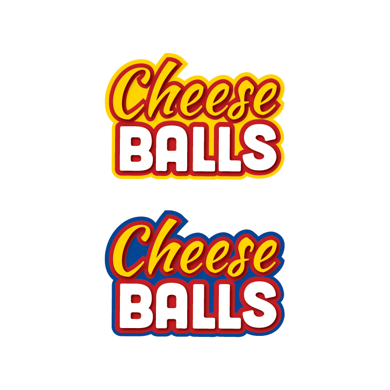Logo Design by Dimitris Koletsis - Entry No. 27 in the Logo Design Contest Imaginative Logo Design for Cheese Balls.